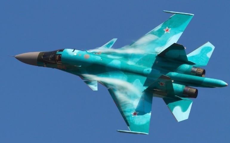 ВКрым перебросили истребители-бомбардировщики Су-34 изЦентральной Российской Федерации