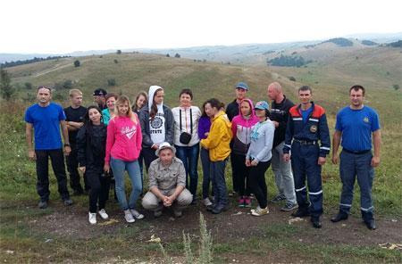 Вгорах Крыма спасли 14 туристов, которые хотели посмотреть звездопад