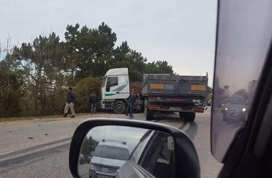 В трагедии с фургоном врайоне Приятного Свидания пострадала женщина