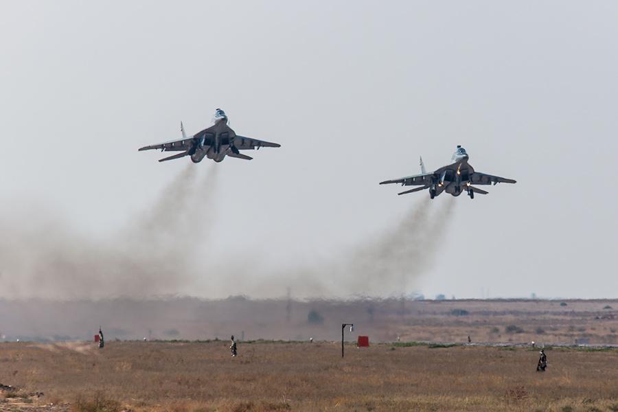 Научениях «Кавказ-2016» военные отработали отражение военной агрессии