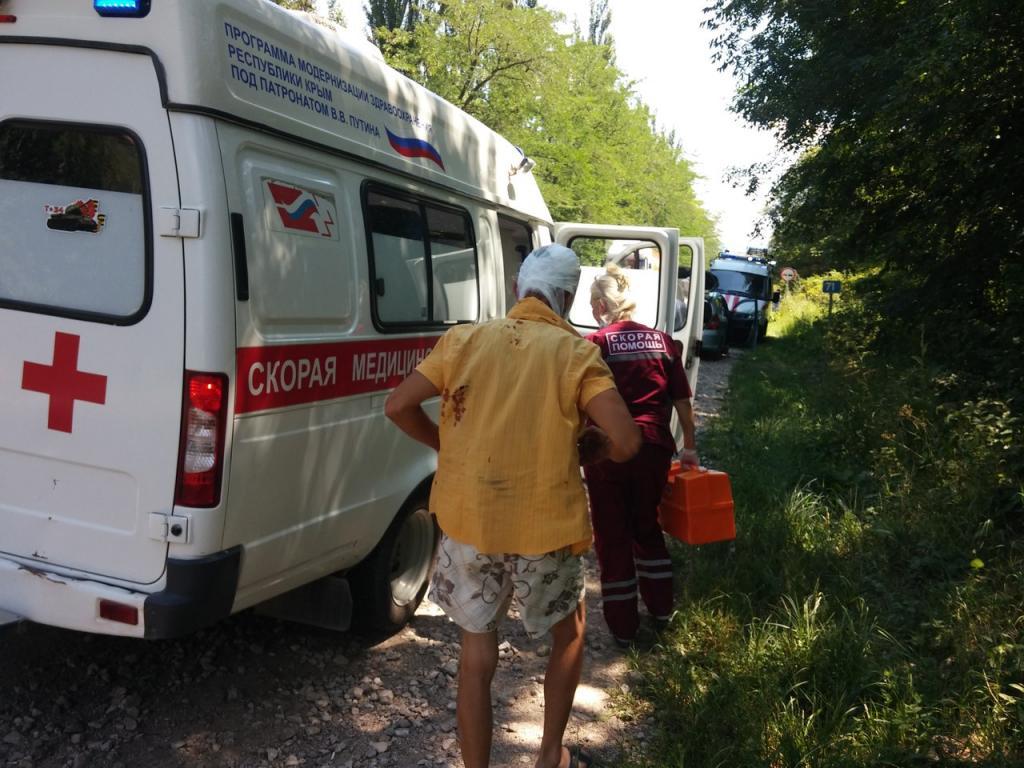 Натрассе Симферополь-Керчь втройном ДТП пострадал мужчина