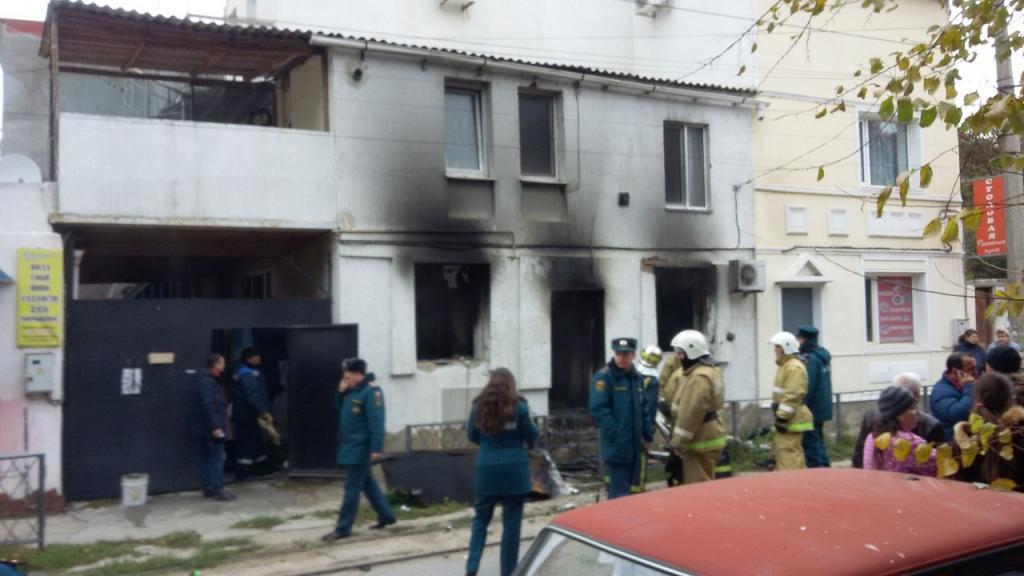 Напожаре вЕвпатории упенсионерки обгорела половина тела