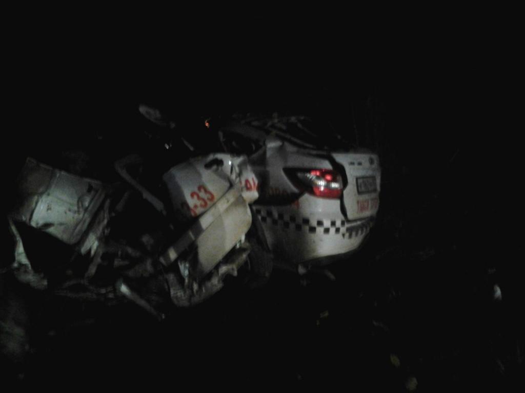 Шофёр такси умер вДТП под Симферополем