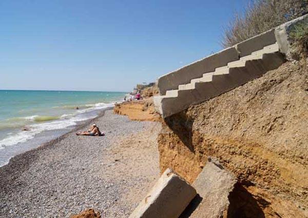 Фото пляжей крыма николаевка