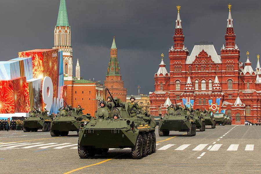 В столице России проходит генеральная репетиция Парада Победы