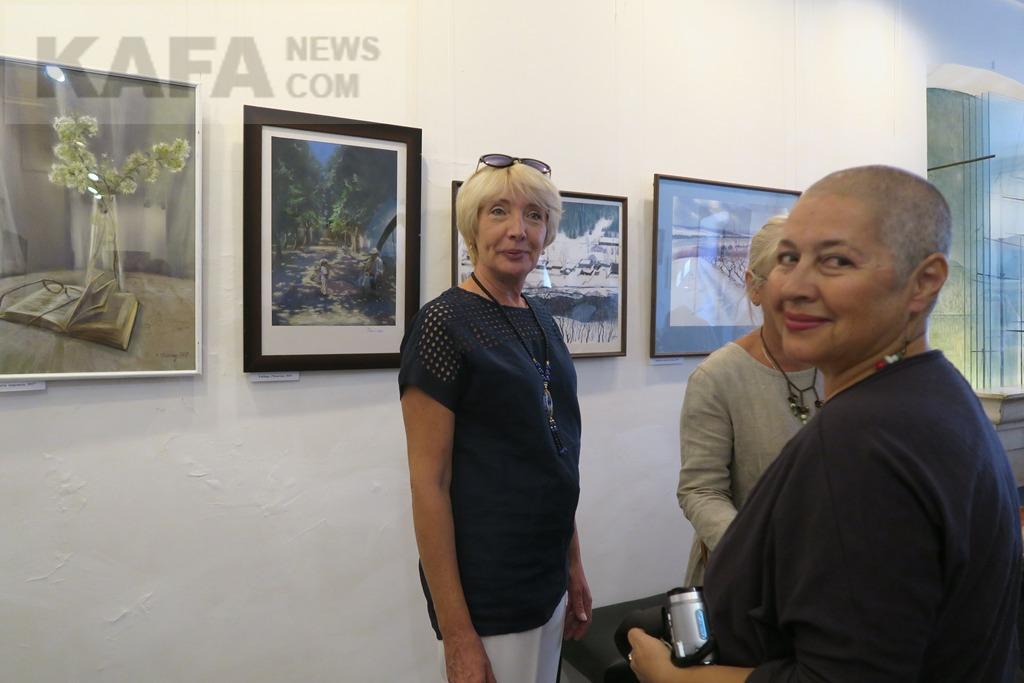 Фото новости - В музее Грина открылась выставка Елены Юшиной(фоторепортаж)