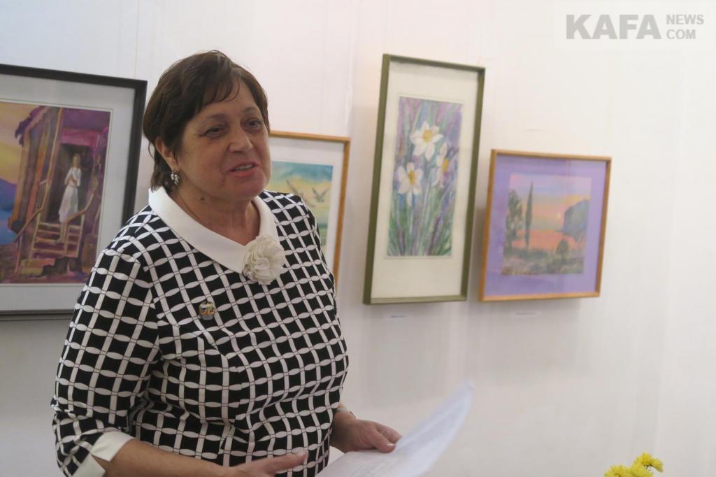 Фото новости - В музее Грина отметили юбилей Натальи Ищенко (видео)(фоторепортаж)