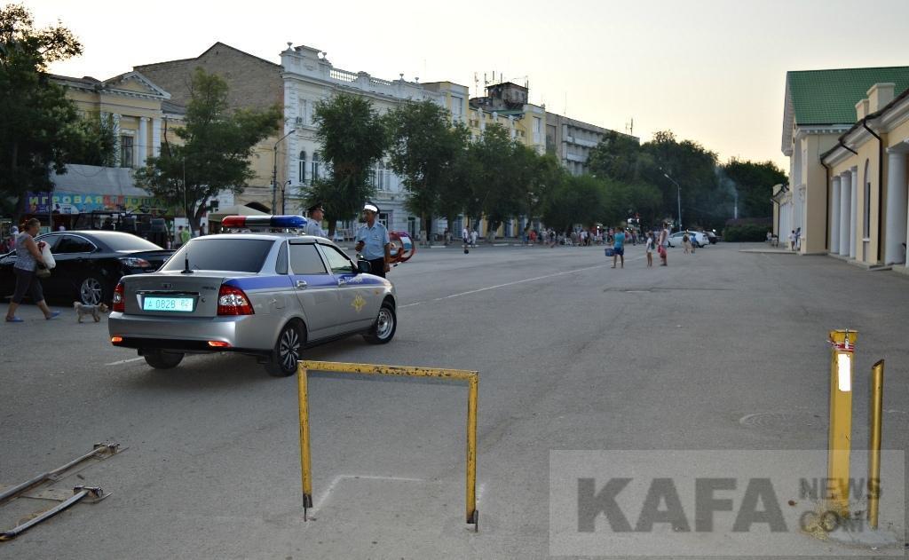 Фото новости - В районе Привокзальной площади установят шлагбаум