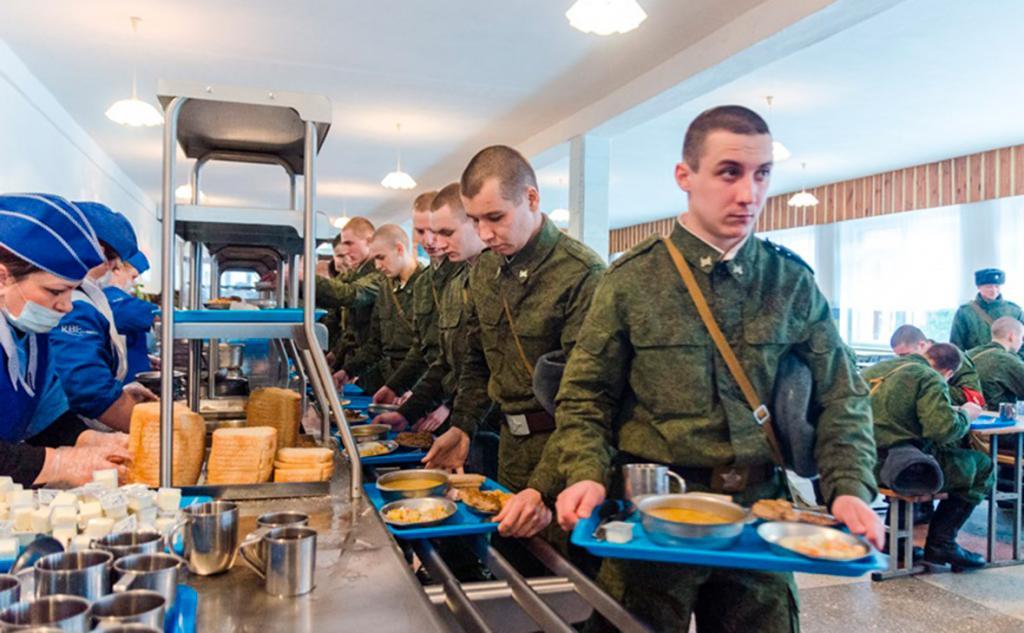 Барышский мясокомбинат установил Росгвардии несъедобные пайки