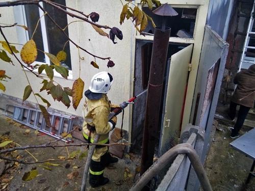 Фото новости - В Щебетовке случился пожар в частном доме (фото)