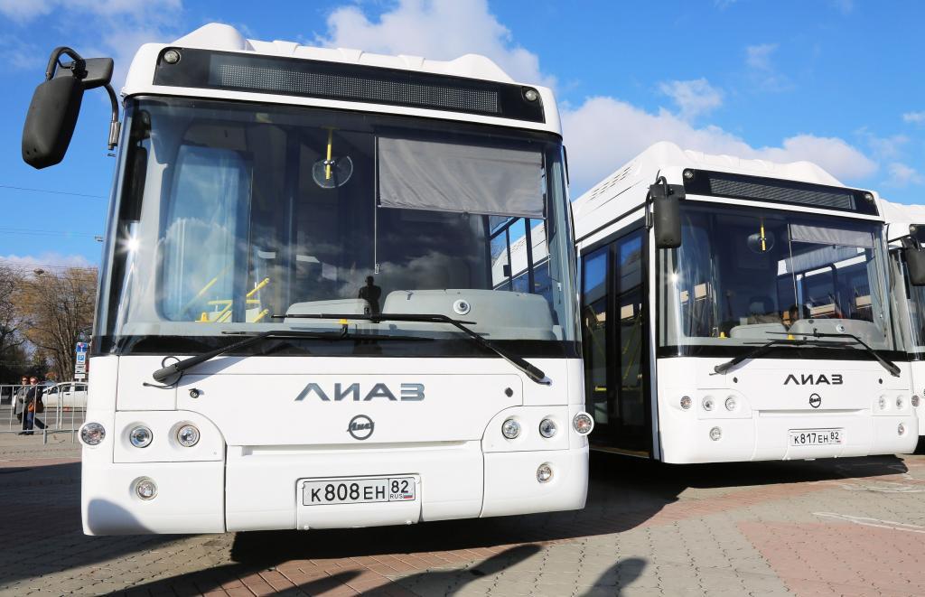 стоимость проезда автобус крым