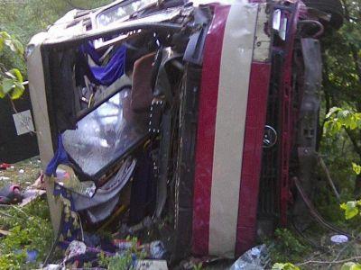 ВКрыму предъявили обвинение водителю упавшего вобрыв автобуса