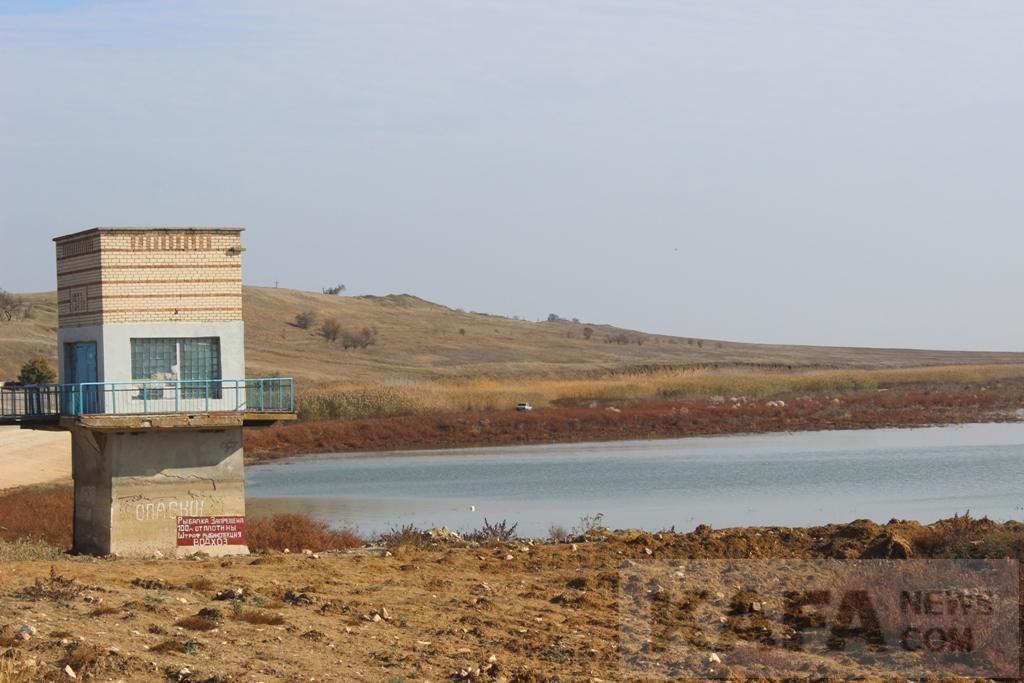Запаса воды в водохранилище Феодосии хватит на полтора месяца