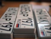 Только четверть крымских автомобилей получили российские номера