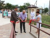 В Крыму в Судаке торжественно открыли отремонтированное здание инфекционного отделения горбольницы