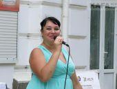 В Феодосии у городского Дома культуры состоялся концерт:фото+видео