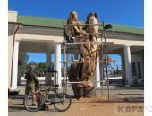 Деревянные статуи Феодосии ждут реставрации