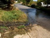 В Крыму в посёлке на ЮБК дорогу залило канализационными стоками