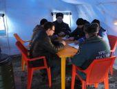 В Крыму на Ангарском и Грушевском перевалах развернуты пункты обогрева
