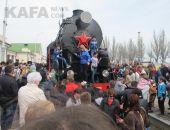 «Поезд Победы» побывал в Феодосии:фоторепортаж