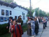 В Коктебеле прошла очередная «Подзаборная» выставка  :фоторепортаж