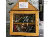 В Феодосии появилась бесплатная уличная библиотека