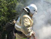 В Крыму огнеборцы тушили сухую траву около Приморского и Владиславовки