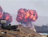 Видео завершающего этапа военных учений в Крыму на Опуке