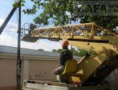 Феодосийский РЭС провел противоаварийные работы