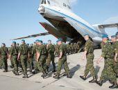 Российские десантники вылетели в Египет на военные учения