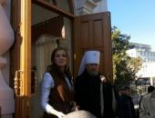 Депутат Поклонская прилетела в Крым и открыла часовню Николая II