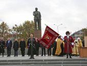 Глава Крыма С.Аксёнов вручил знамя Крымскому окружному казачьему обществу