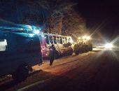 В Крыму спасатели привлекались для ликвидаций ДТП с участием бензовоза, автобуса и «скорой» (фото):фоторепортаж
