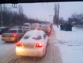 Плохая погода стала причиной многочисленных ДТП и пробок на дорогах в Крыму (фото):фоторепортаж