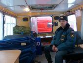 На Ангарском и Грушевском перевалах в Крыму развёрнуты мобильные пункты обогрева, – МЧС