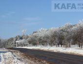 Завтра в Крыму ожидается сильный мокрый снег, метель, гололедица и шквальный ветер