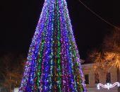 Новый год у елочки Феодосии:фоторепортаж