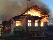 Вчера в селе Кировского района сгорел частный дом, его тушили 5 часов
