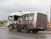 В Феодосии сегодня бензовоз столкнулся с автобусом