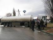 Подробности вчерашнего столкновения автобуса и бензовоза в Феодосии