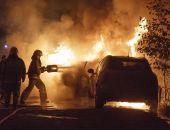 В одну ночь в Феодосии загорелись две машины