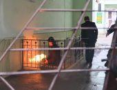 В подвале здания администрации Феодосии тушили пожар