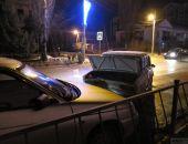 В Феодосии на перекрестке Симферопольского шоссе и Чкалова авария с участием четырех автомобилей