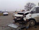 Вчера под Белогорском Газель въехала в ВАЗ, двое пострадавших