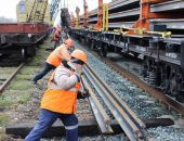 Новые рельсы позволят поездам в Крыму развивать скорость до 120 км/ч (фото):фоторепортаж