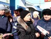 В Керчи торговцы грозят перекрыть автодорогу, ведущую к переправе «Крым – Кавказ» (видео)