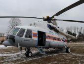 Авиапарк МЧС Крыма пополнился новым вертолётом Ми-8