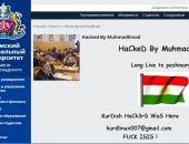 Сегодня хакеры взломали сайт университета им. Вернадского