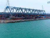 Арочные пролёты Крымского моста собраны наполовину, к концу лета будут готовы к установке