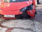 В столице Крыма произошло ДТП с участием Lamborghini (фото)